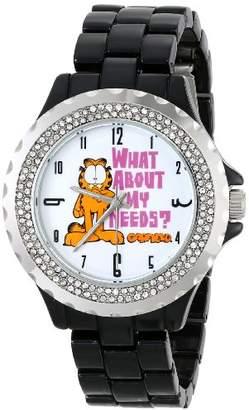 EWatchFactory Garfield Women's W000636 Adult Enamel Bracelet Strap Watch