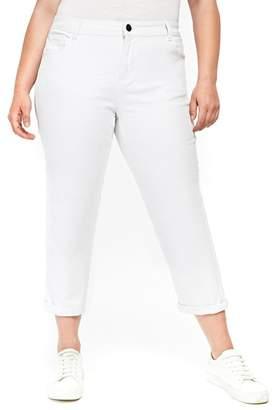 Evans Girlfriend Jeans (Plus Size)