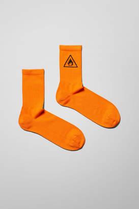 Weekday Eleven Socks - White