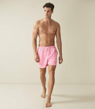 Reiss SONAR DRAWSTRING SWIM SHORTS Soft Pink