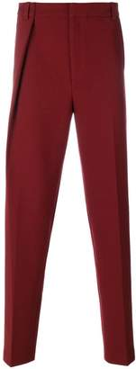 Martine Rose straight leg pleated trousers