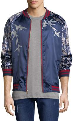 Standard Issue Men's Sublimation Satin Jacket