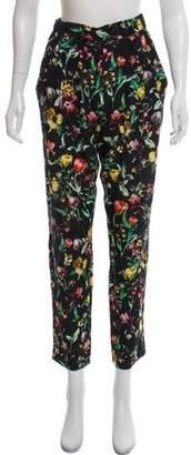 3.1 Phillip Lim Silk Floral Print Pants