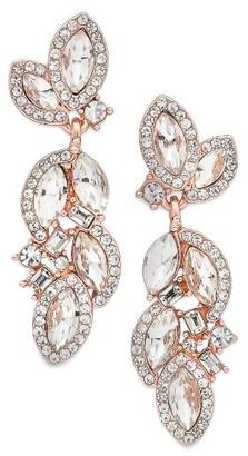Women's Nina Romantic Crystal Drop Earrings $55 thestylecure.com