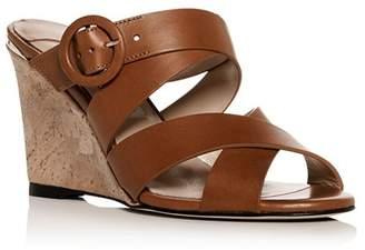 Jimmy Choo Women's Delia Crisscross Wedge Slide Sandals