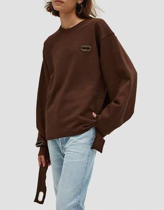 Collina Strada Sweatshirt Grommeted in NUDE56