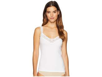 Hanky Panky Cotton with Lace Cami