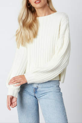 Cotton Candy Kint Sweater