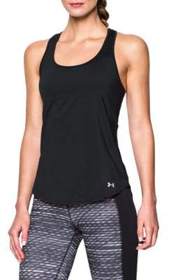 Under Armour Fly By 2.0 Cutout Racerback Tank Top