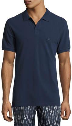 Vilebrequin Palan Cotton Piqué; Polo Shirt