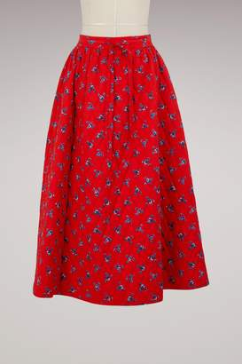 Kenzo Cotton long skirt
