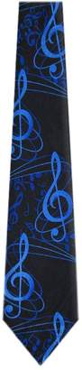 Buy Your Ties MN 323 Mens Novelty Musical Notes Necktie