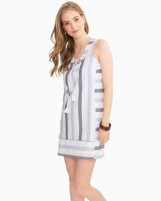 Southern Tide Kaylee Nautical Striped Sleeveless Shift Dress