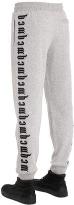 McQ Printed Cotton Sweatpants