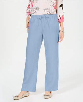Charter Club Straight-Leg Pants