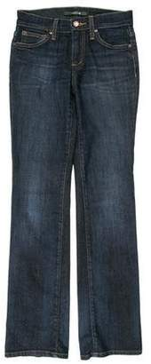 Joe's Jeans Mid-Rise Straight-Leg Jeans