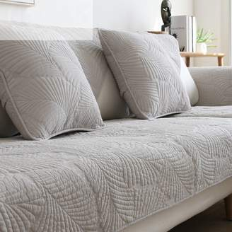 TY&WJ Double-Sided Sofa Cover Cotton Sofa Slipcover Couch Covers Solid Color Water Washing Stain-Resistant for Living Room Outdoor