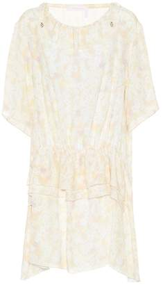 See by Chloe Floral-printed crêpe dress