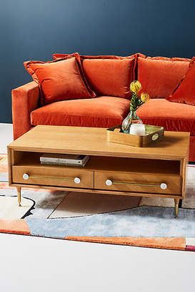 Anthropologie Nelson Storage Coffee Table