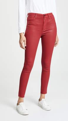 Joe's Jeans Charlie Coated Skinny Ankle Jeans