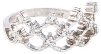 Ring 18K Diamond Tiara white 18K Diamond Tiara