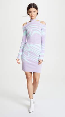 Roberto Cavalli Mini Knit Dress