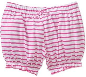 Mineville Newborn Baby Girl Mix-n-Match Ruffle Hem Stripe Bubble Shorts