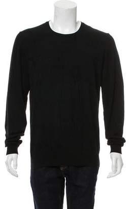 Versace Logo-Accented Crew Neck Sweater
