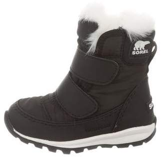 6f4f701f27f8 Sorel Boys  Faux Fur-Lined Snow Boots w  Tags