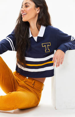 Tommy Jeans Colorblock Rugby Polo T-Shirt