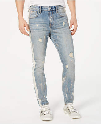 GUESS Men Relaxed-Fit Ripped Jeans
