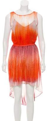 Haute Hippie Sleeveless Midi Dress w/ Tags