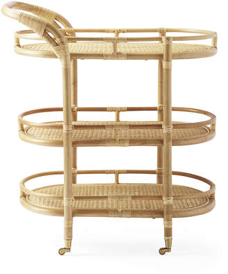 Serena & Lily Monaco Bar Cart