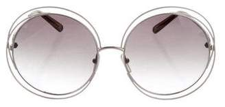 Chloé Carlina Oversize Sunglasses