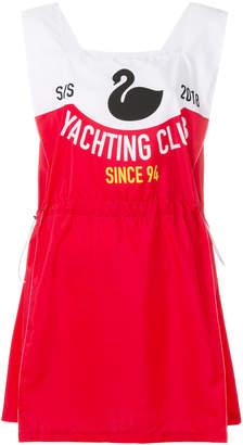 Gcds flamingo print dress