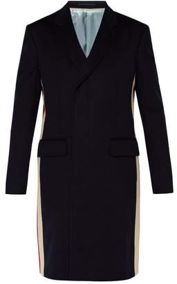 Gucci Eco Cashmere Blend Coat - Mens - Navy