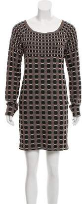 Thakoon Pattern Mini Dress