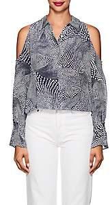Ramy Brook Women's Hazel Silk Crepe Blouse Size S