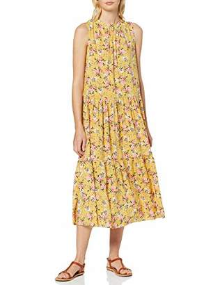 2c57da03d96c9a at Amazon.co.uk · New Look Women's Ec Ryan Floral Tier Smock Midi (6248013)  Dress,(Manufacturer