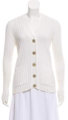 Tory Burch Long Sleeve Button Up Cardigan
