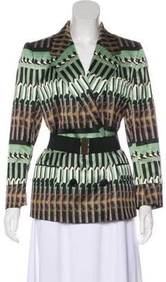 Dries Van Noten Printed Structured Jacket