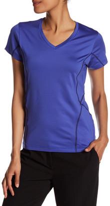 Peter Millar V-Neck Short Sleeve Coverstitch Tee $59.50 thestylecure.com