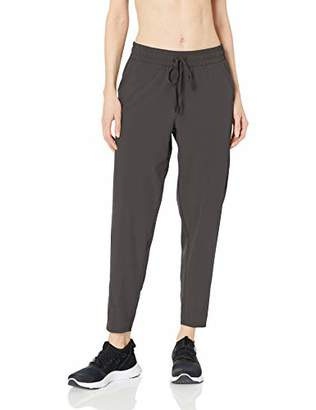 Amazon Essentials Women's Studio Woven Stretch Ankle Pant