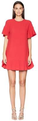 RED Valentino Crepe Envers Satin Women's Dress
