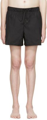 Acne Studios Black Perry Swimsuit $140 thestylecure.com