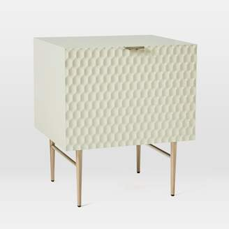 "west elm Audrey Media 21"" 1-Door Cabinet"