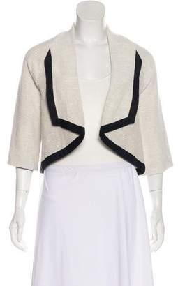 Zero Maria Cornejo Knit Open-Front Blazer
