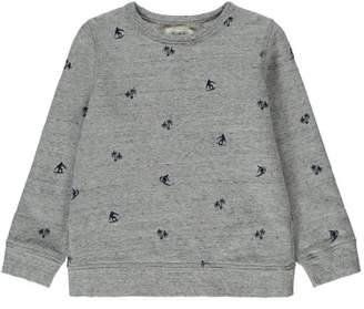 Hartford Sale - Surfer Allover Embroidered Sweatshirt