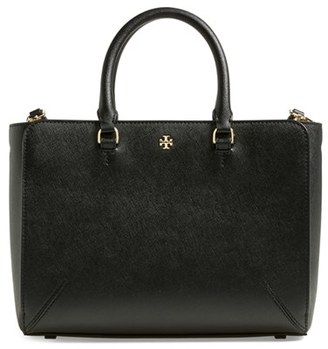 Tory Burch 'Small Robinson Zip' Leather Tote $395 thestylecure.com