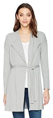 Splendid Women's Drawcord Cardigan Grey